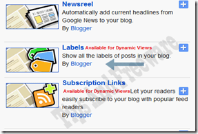 How to Add category As Tabs To Bloggers Navigation Bar
