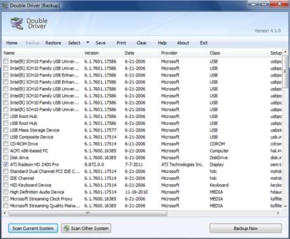 Windows Driver Backup Software