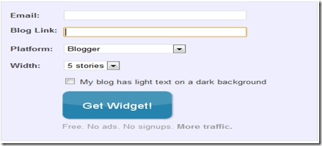 related post widget for blogger blog