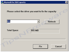 How to convert 1GB memory card to 2GB