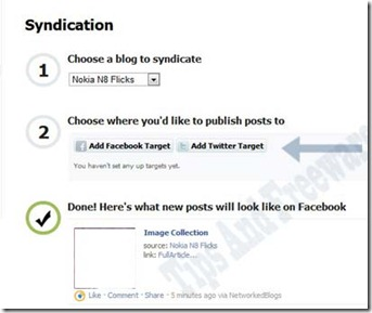 How to Auto Post your Blog in Facebook and Twitter(Easy way)