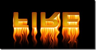 Burning Fire Effect With Glossy Reflection Photoshop Tutorial