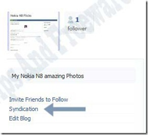 auto post your blog in facebook and twitter
