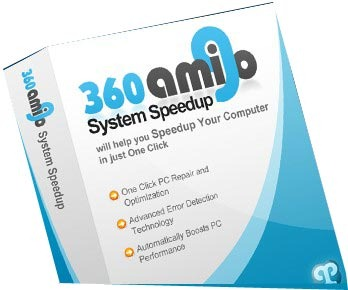 Speed up your computer with Amigo 360 System clean up