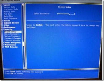 How to clear a BIOS or CMOS password