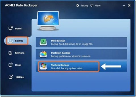 system backup and restore software