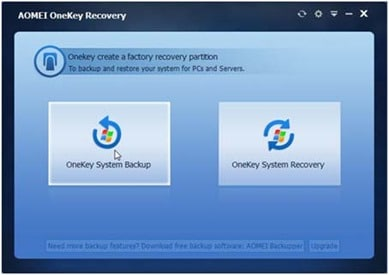 System Backup And Restore