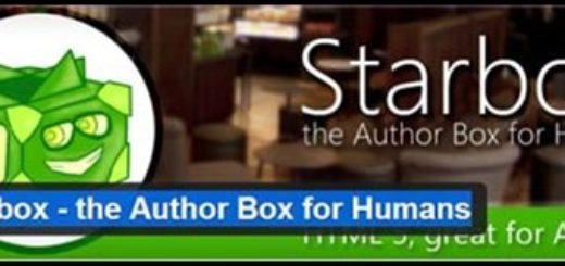 author bio box plugin
