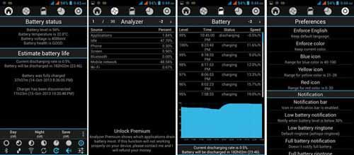 Android App To Analyze And Improve Battery Life