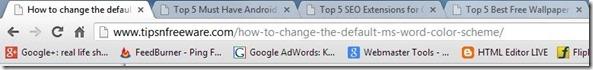 Google Chrome Tips:10 Tips to master Google Chrome