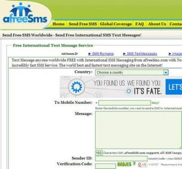 how to send free sms online