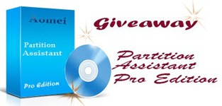 Giveaway:Aomei Partition Assistant Pro Edition License Key