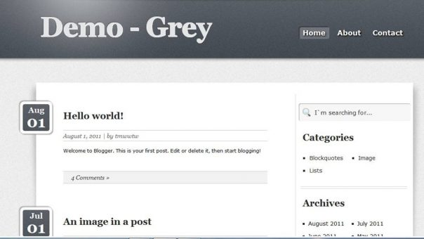 Top 5 Free Blogger Template Fast Loading