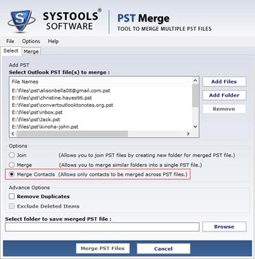 PST Merge
