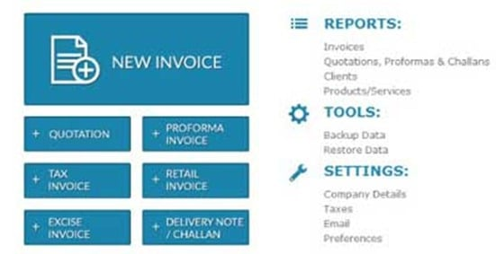 Invoice Making Software