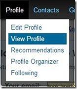 linkedin profile id