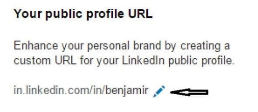 Customize Your LinkedIn Public Profile URL