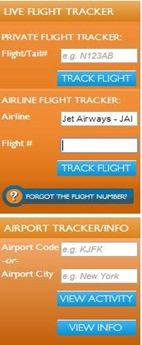 Real Time Flight Tracking