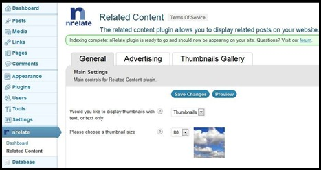 The Best Related posts plugin for Word press