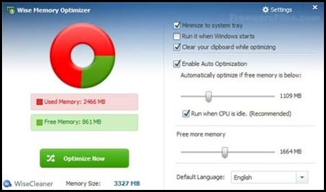 free pc optimizer software