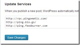 Latest WordPress Ping List 2013 For faster Indexing