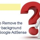 Tip To Remove The Yellow Background From Google AdSense