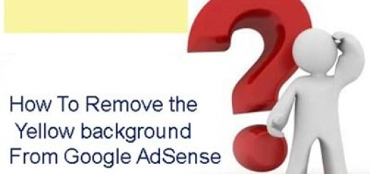 Remove The Yellow Background From Google AdSense