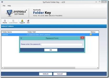 Password Protect And Lock Folders