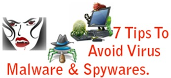 how to avoid virus and malware