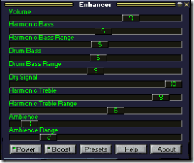 make winamp sound better